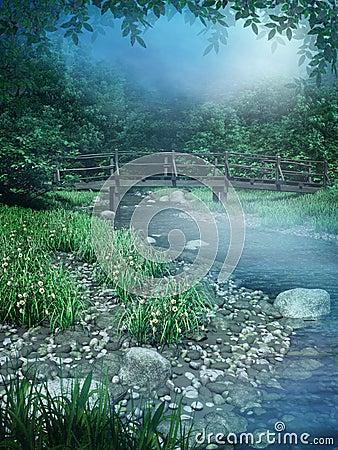 Fantasy river