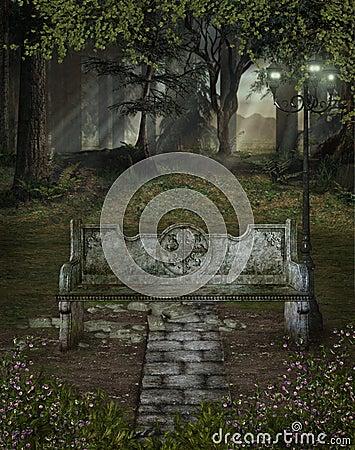 Fantasy scenery 112