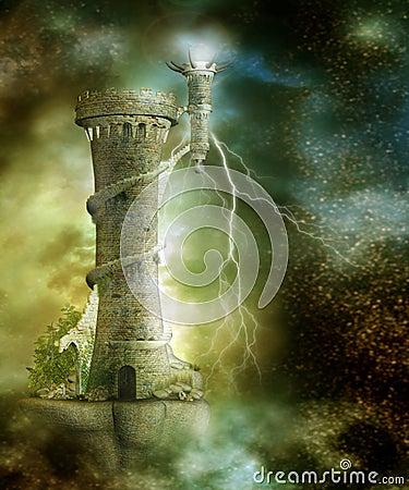 Free Fantasy Scenery 26 Stock Photos - 9121743