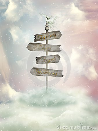Fantasy signage