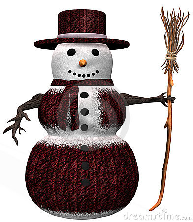 Fantasy Snowman Stock Photo - Image: 22644470