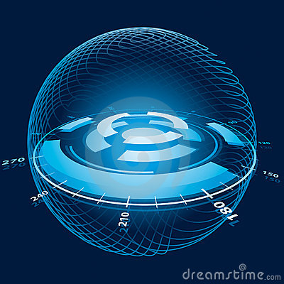 Fantasy Space Navigation Sphere