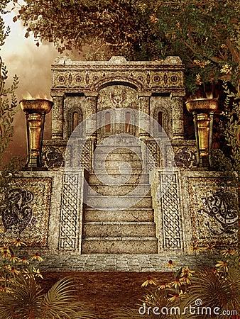 Fantasy temple 1