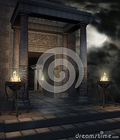 Fantasy temple 12