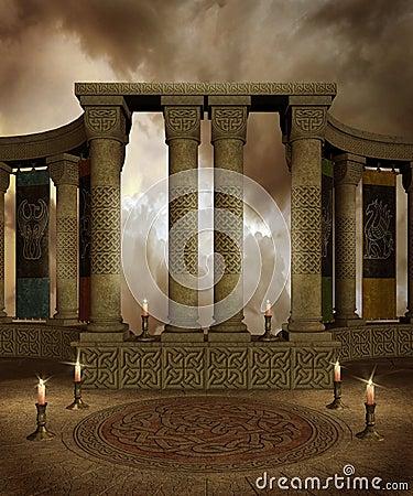 Fantasy temple 3