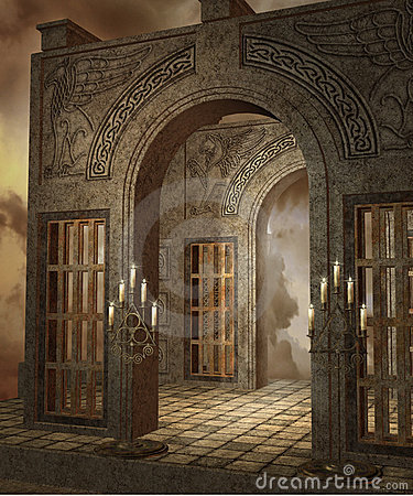 Fantasy temple 4