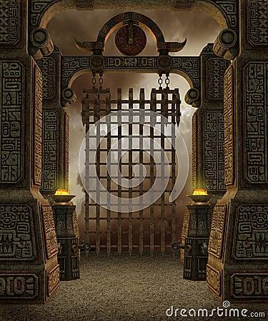 Fantasy temple 7