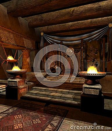 Fantasy throne room 2