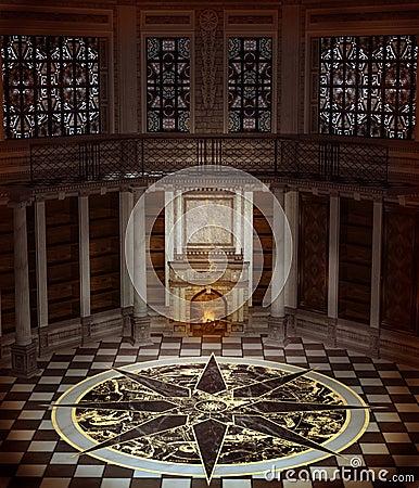 Fantasy tower interior