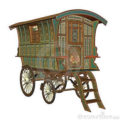 Free Fantasy Wagon Stock Photos - 13758453