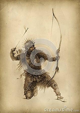Free Fantasy Warrior Royalty Free Stock Images - 21856069