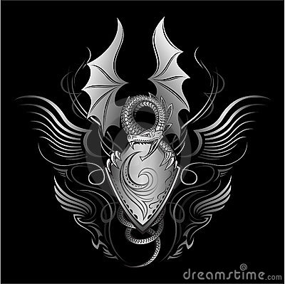 Fanyasy Roaring Dragon Insignia