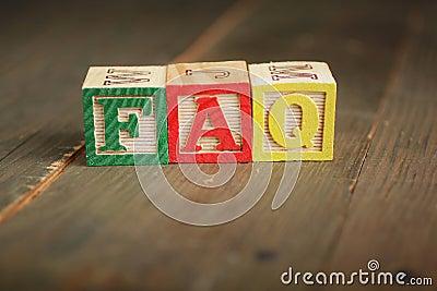 Faq wood blocks
