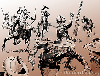 Far West battle
