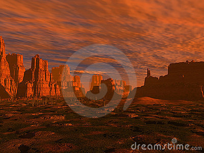 Far West Desert Royalty Free Stock Photography - Image: 1486007