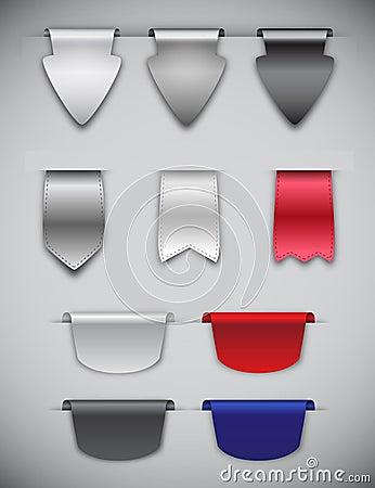 Farbbänder und Bookmarks