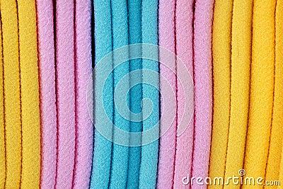 Farbiges Tuch