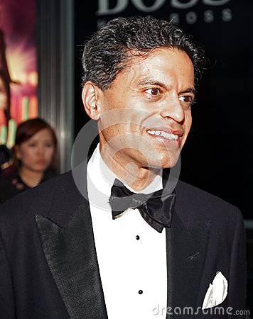 Fareed Zakaria Editorial Photo