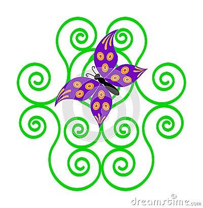Farfalla graziosa