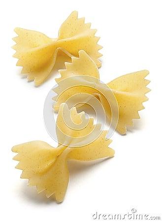 Free Farfalle Noodles Royalty Free Stock Photos - 28505548