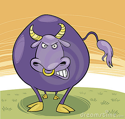 Farm animals: Bull