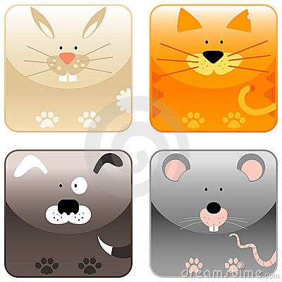 Farm animals - icon set 2