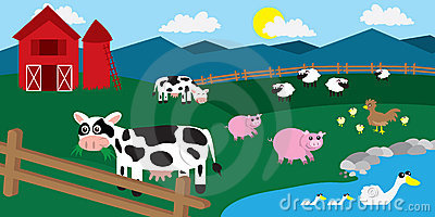Farm Barnyard Animals