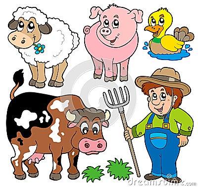 Farm cartoons collection
