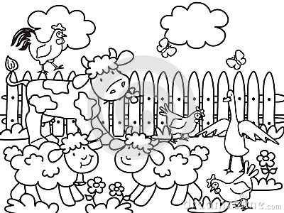 Farm-coloring