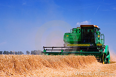 Farm equipment harvester