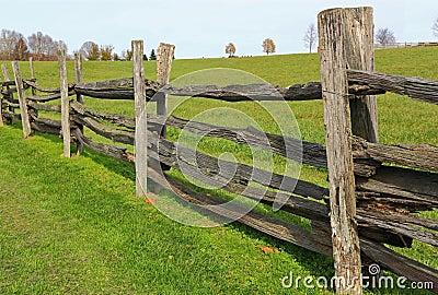 Farm Wood Fence Royalty Free Stock Photo Image 22014245