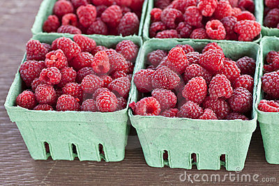 Farm Fresh Raspberries