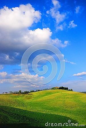 Farm & hills