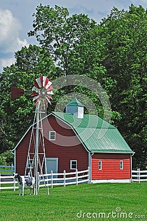 Farm house in the usa