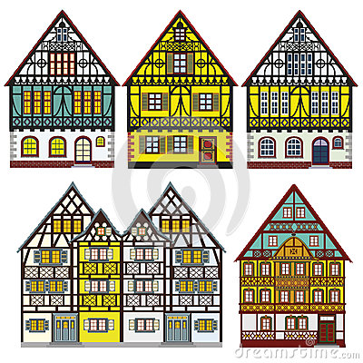 Farm houses in Old Europe