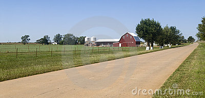 Farm land in Oklahoma