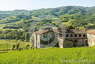 Farm near Parma (Italy)