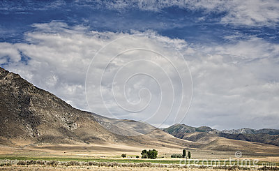 Farm, Nevada Desert