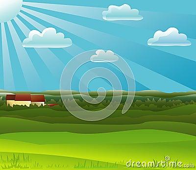 Farm noon