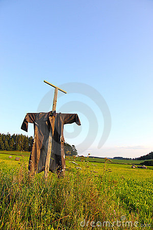 Free Farm Scarecrow Royalty Free Stock Images - 20814019