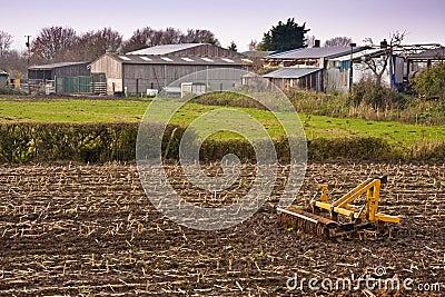 Farm sheds and machine