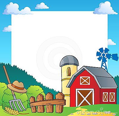 Free Farm Theme Frame 1 Royalty Free Stock Photos - 24291958