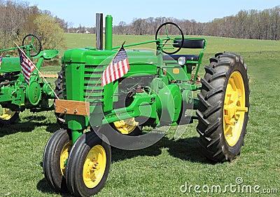Farm Tractor Farmland