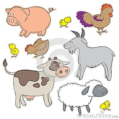 Farm Yard Animals