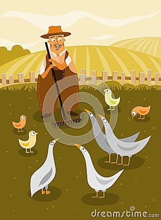 Free Farmer Royalty Free Stock Photography - 16496347