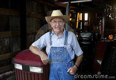 Farmer in the Barn
