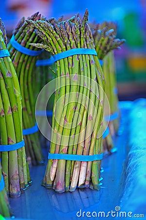 Free Farmers Market Asparagus Stock Photography - 14645592
