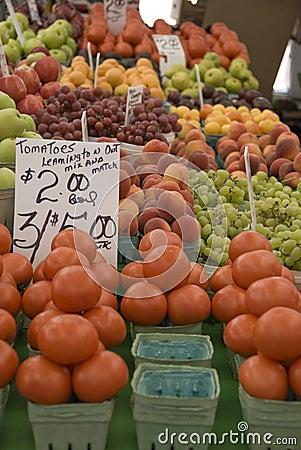 Free Farmers Market Produce Royalty Free Stock Photography - 10445677