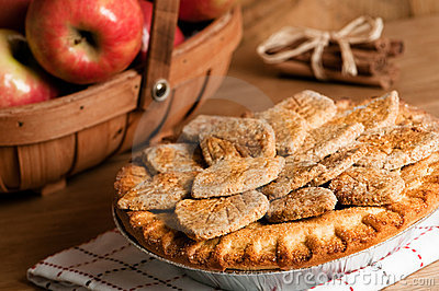 Farmhouse Apple Pie Royalty Free Stock Photography - Image: 13363077