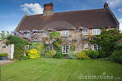 Farmhouse in England